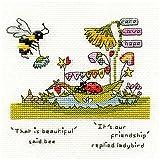 Bothy Threads - Kit per punto croce, con scritta 'Beautiful Friendly'