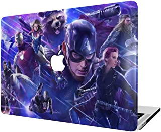 MacBook Case,Laptop Case Plastic Case Hard Shell Case The Avengers for MacBook Air 11.6-inch Model A1465/A1370 with Keyboard Skin Cover and Screen Protector (Color 39)