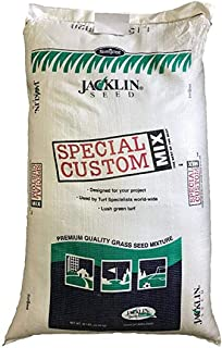 Jacklin Seed - Ideal Shade - 40% Creeping Red Fescue, 20% Chewings Fescue, 30% Kentucky Bluegrass, 10% Perennial Ryegrass | Certified Grass Seed (5-50 lbs) (5 lbs (2,000 sq ft))