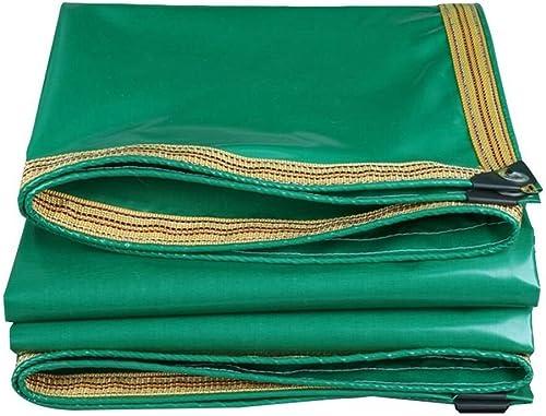 Waterproof Cloth Home Bache imperméable Oxford Ultra-légère en Tissu imperméable, Tapis de Pique-Nique en bache imperméable, Isolant écran Solaire Cargo, à Porter, Vert (Couleur   A, Taille   3 x 5M)