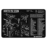 TekMat Cleaning Mat for use with Beretta PX4 Storm , Black