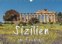 Sizilien im Fruehling (Wandkalender 2022 DIN A3 quer): Die beste Reisezeit um Sizilien zu entdecken - Der Fruehling! (Monatskalender, 14 Seiten )