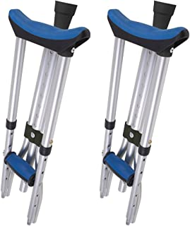 folding crutches with carry bag