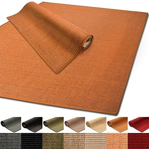 Floordirekt 100% reines Sisal | Sisalteppich vielen Größen (Terra, 160 x 230 cm)