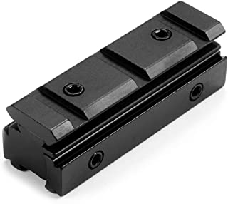 MIZUGIWA 11MM Dovetail - 20MM Weaver Scope Rail Converter Adapter for Airgun or Rifle