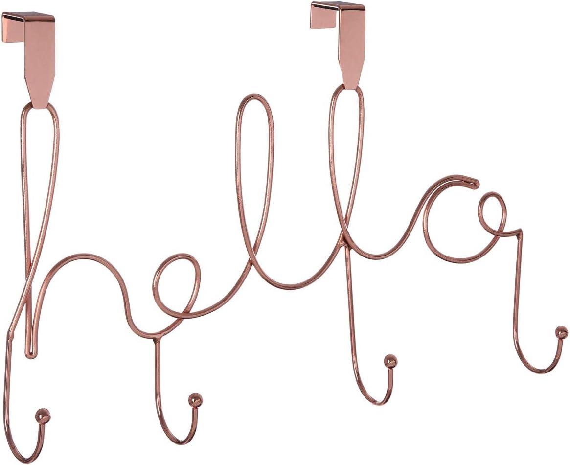 Premier Housewares Over Door Hanger trend rank Size Gold Iron One Rose Very popular