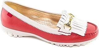 MARC JOSEPH NEW YORK Womens Golf Leather Made in Brazil Lexington Performance Fashion Shoe Moccasin