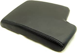 Autoguru BMW E90 Center Console Armrest Synthetic Leather Cover Black for 05-13