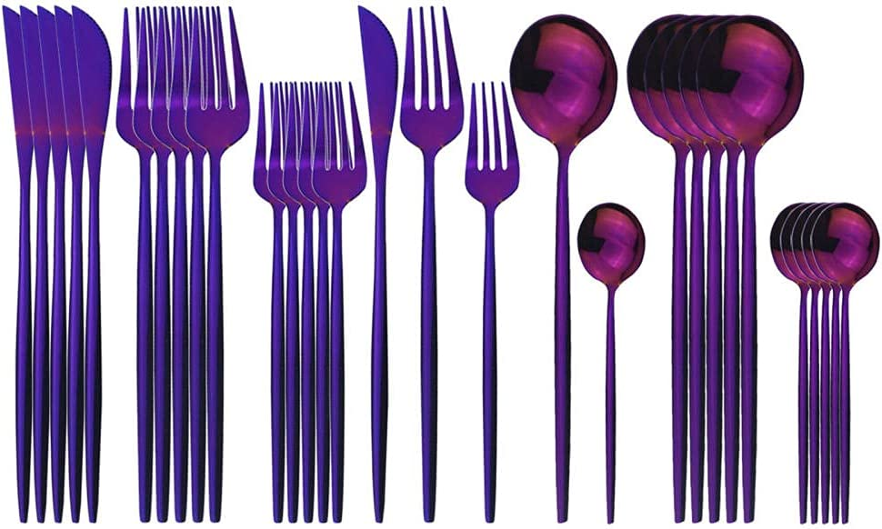 Kitchen Utensils Set Simply Flatware Modern Stainless Manufacturer OFFicial shop trend rank 30Pcs