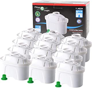 comprar comparacion FilterLogic FL402H - 12 unidades - cartucho de filtro compatible con BRITA Maxtra para Elemaris / Marella / Navelia / Fun ...