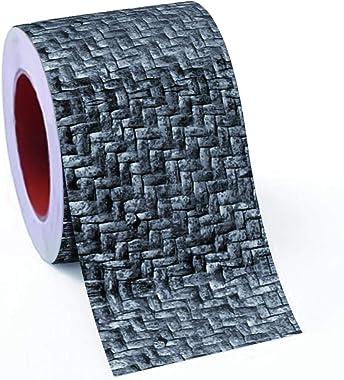 100yellow® 3D Bricks Design Waterproof Self Adhesive Wall Tiles Decals Sticker for Kitchen & Bathroom, 48 X 16 Inch