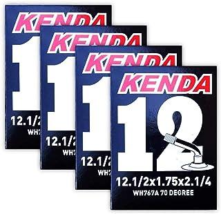 """Kenda 管装 12-1/2"""" x 2-1/4"""" (1.75"""") 70 度弯曲施拉布拉德阀 - 四 (4) 个装 w 贴花"""
