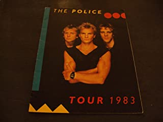 The Police Tour Program 1983