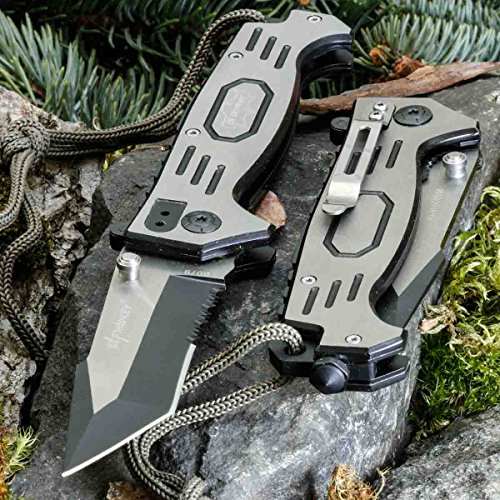 ELF MONKEY B079V • Pocket Folding Outdoor Camping Edc Knife • Overall Lenght: 8.35in • PTM-uk.