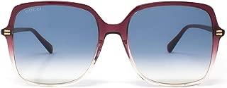 Luxury Fashion | Gucci Womens GG0544S005 Purple Sunglasses | Fall Winter 19