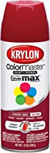Krylon K05210107 ColorMaster Paint + Primer, Gloss, Cherry Red, 12 oz.