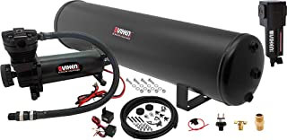 Vixen Air Suspension Kit for Truck/Car Bag/Air Ride/Spring. On Board System- 200psi Compressor, 5 Gallon Tank. for Boat Lift,Towing,Lowering,Leveling Bags,Onboard Train Horn,Semi/SUV VXO4852BF