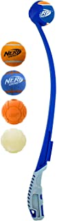 25in Translucent Air Strike Thrower with 2.5in Non-Squeak Tennis Ball and 2.5in Foam-Filled Tennis Ball and 2.5in Non-Sque...