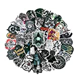SUNYU 50Pcs/Pack Graffiti Stickers Devil Gothic Witch Waterproof For Laptop Luggage Motorcycle Phone Skateboard Toys Car Diary Helmet