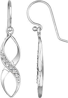 Elli Women's 925 Sterling Silver Xilion Cut Swarovski Crystal Earrings