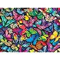 1000-Piece Buffalo Games Vivid Collection Butterflies Jigsaw Puzzle