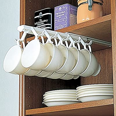 DGJDSLGDGBLDFHFDH Under Shelf Mugs Cups,Creative Cup Storage Rack Household Cup Upside Down Hanger Coffee Cup Holder Hanging Cup Holder from FVGDGFDGBCDHFDHHF