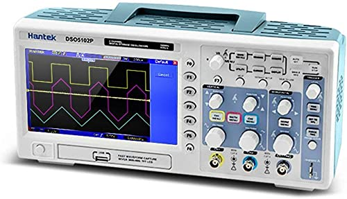 ordene ahora los precios más bajos Sunnyday DSO5102P Osciloscopio de Almacenamiento Digital 100MHz 100MHz 100MHz 1Gsa   S 2-CH 7  TFT USB WD  promociones de equipo