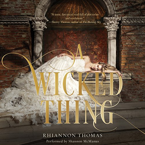 A Wicked Thing audiobook cover art