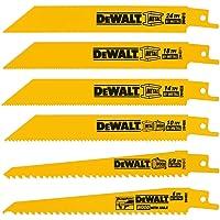 DEWALT Reciprocating Saw Blades Cutting Set, 6-Piece Deals