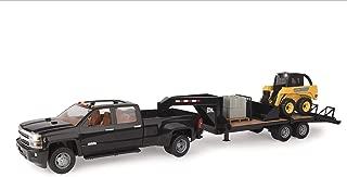 ERTL John Deere Big Farm Skidsteer, Trailer and Chevrolet Truck Lights and Sounds