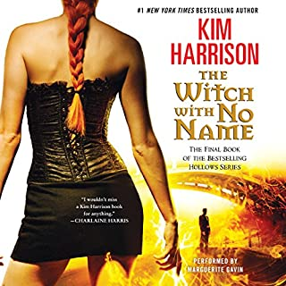The Witch with No Name     The Hollows, Book 13              By:                                                                                                                                 Kim Harrison                               Narrated by:                                                                                                                                 Marguerite Gavin                      Length: 17 hrs and 29 mins     2,919 ratings     Overall 4.7