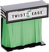 Twist-Ease Bag Closure Black Single Dispenser - 6
