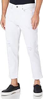 Only & Sons heren Jeans ONSAVI BEAM LIFE CROP WHITE MA 9205