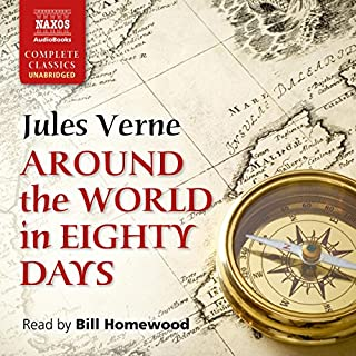 Around the World in Eighty Days cover art