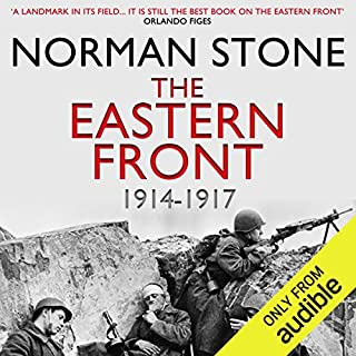 The Eastern Front 1914-1917 audiobook cover art