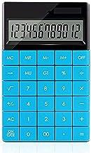 $45 » Z-Color Multifunctional Calculator Flat Large Screen Office Computer Dual Power Portable Cute Solar Financial Calculator E...
