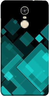 غطاء حماية من كولر كينغ لهاتف شاومي ريدمي نوت 5 - بتصميم مربعات، متعدد الالوان