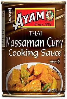 AYAM Thai Massaman Curry Cooking Sauce | Mild, Sweet & Subtle | Gluten, Egg, Dairy & Nut Free | No Preservatives, No Artif...