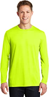 Long Sleeve PosiCharge Competitor Cotton Touch Tee M Neon Yellow