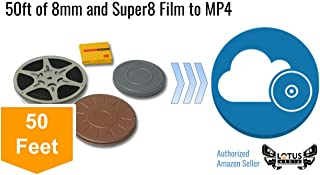 8mm and Super8 Film Digitization and Transfer Service to Digital MP4 by Lotus Media