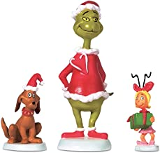 Department 56 Grinch Village Max and Cindy-Lou Who Accessory Figurine, 2.75 inch