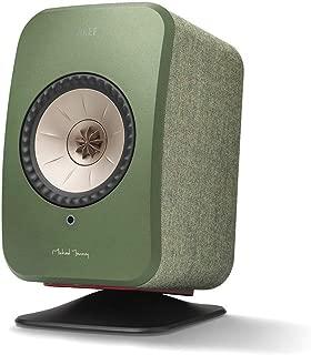 KEF SP4013BA P1 Desk Pad Compatible with LSX Speaker, Black (Pack of 2)