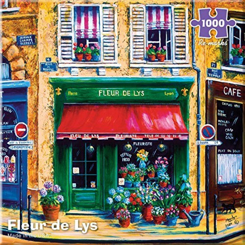 Remarks Fleur de Lys 1000 Piece Puzzle by ReMarks