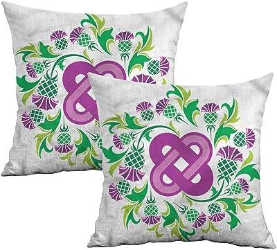 Amazon.com: Funda de almohada cuadrada Khaki para el hogar ...