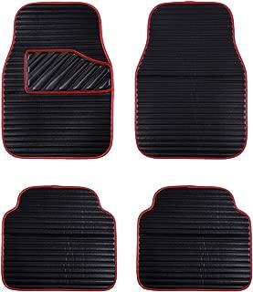 Best car floor mats red Reviews