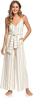 Roxy Womens Wheel and Palms Strappy Wide Leg Jumpsuit for Women Arjwd03253