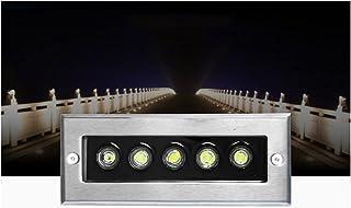 CHHD LED Underground light Rectangular Decking Lights Outdoor Ground Light, for Garden Driveway Deck Patio Step Stair IP66...