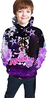 Soft Angels_Aphmau Sweatshirts Hoodies for Teens Girls Boys Hoody Hooded with Pockets Tops