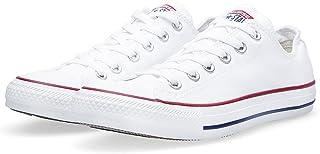 Converse Unisex Chuck Taylor All Star Ox Basketball Shoe (8.5 B(M) US Women / 6.5 D(M) US Men, Optical White)