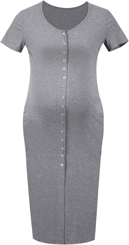 Ladies Maternity Slim Short Branded goods Sleeve Thread Cardigan Sof Direct store
